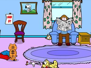 加菲猫疯狂营救